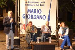 Mario GIORDANO a Corsano per i 40 anni de LA VOCE DI CORSANO